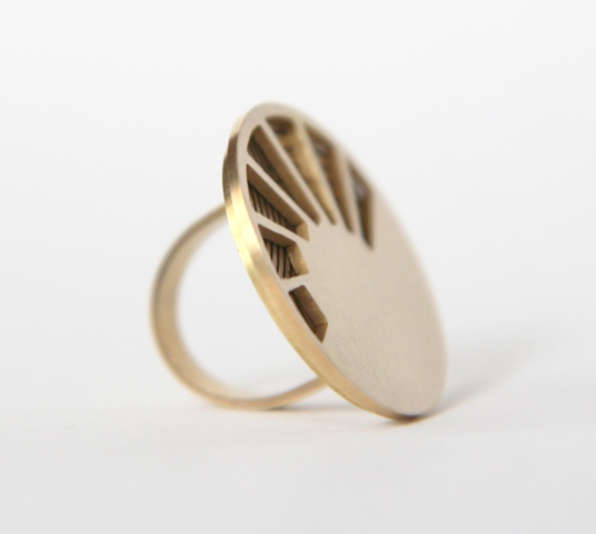 "Kinētiskais gredzens | Kinetic ring ""Motion"""